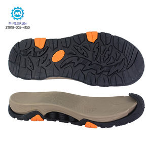 New Design Toe Top Cover OEM Custom Logo EVA MD Phylon Tpr Rubber Sandal Oustole Sandal Sole