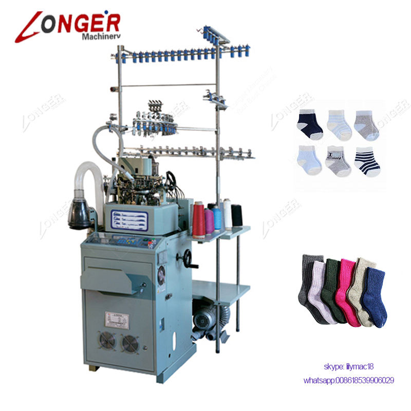 Computerized Automatic Knitting Equipment Socks Making Machines Price For Making Socks