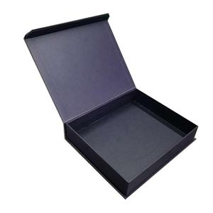 Foldable magnet subscription carton paper boxes customized luxury china rectangular cardboard book type box packaging