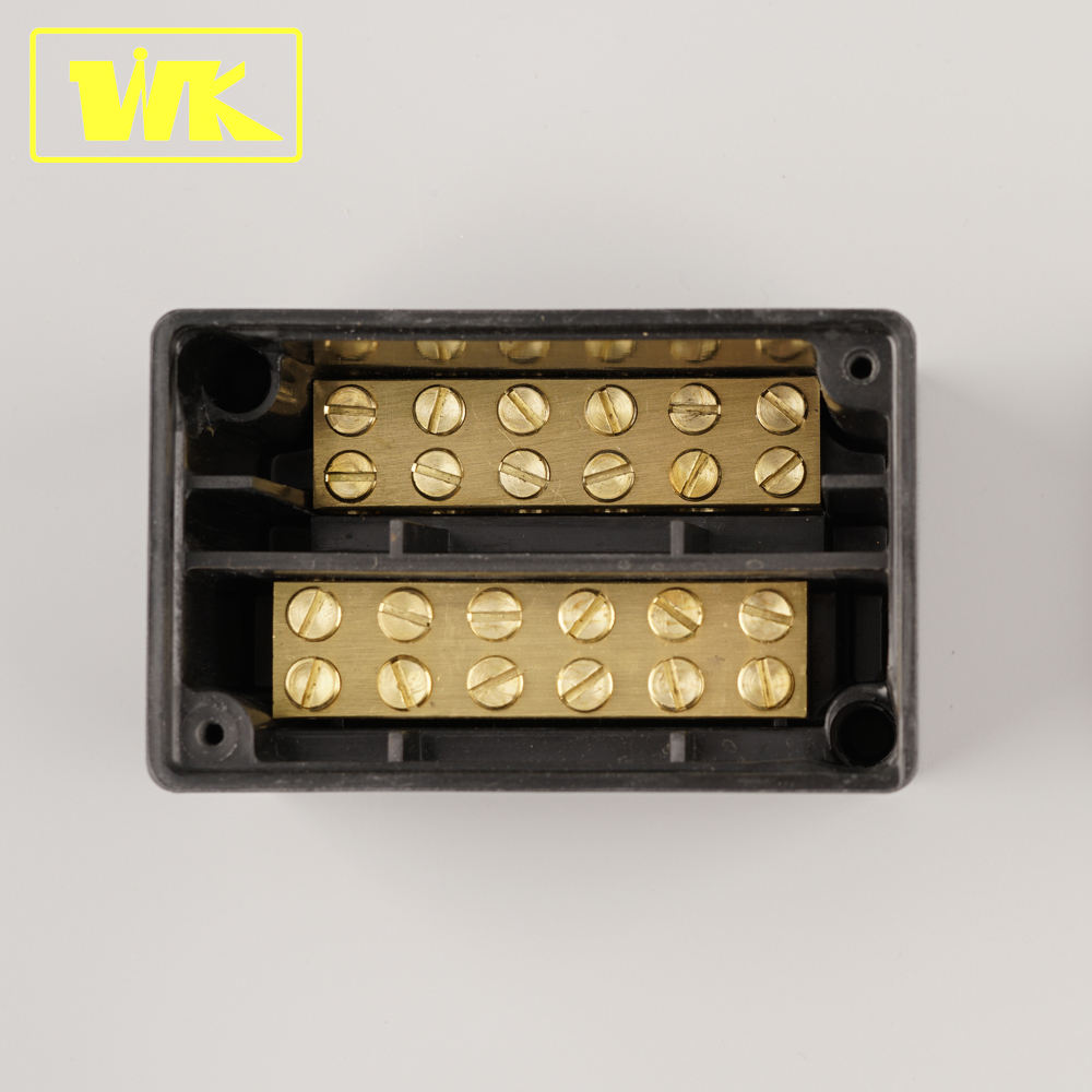 Thermoset Urea Housing 100A Brass Terminal Connection Box 100 amp Junction Box