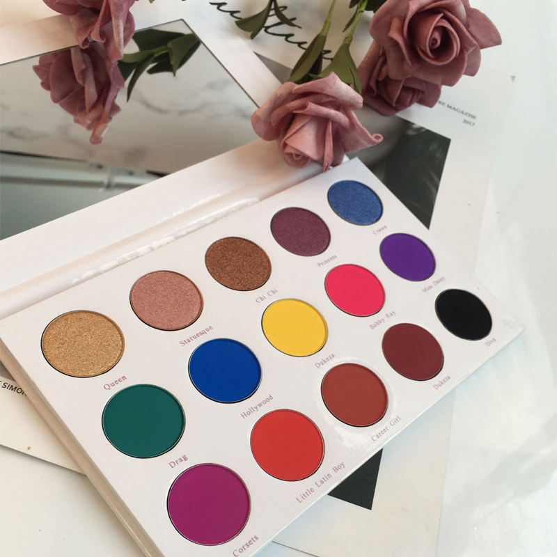 10 Colors Cosmetic Makeup Eyeshadow Palette