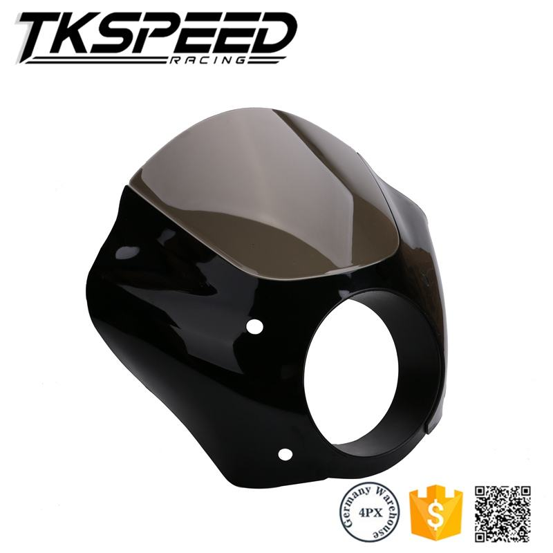 Freeshipping Black Headlight Fairing W/Trigger Lock Mount Kit XL for 1200 883 Freeshipping D15