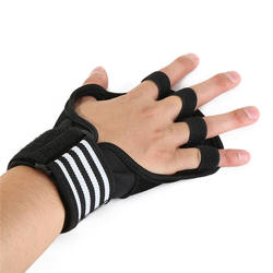 Gym Training Palm Protector Palm Protection Anti Slip Weight Lifting Fitness Gloves