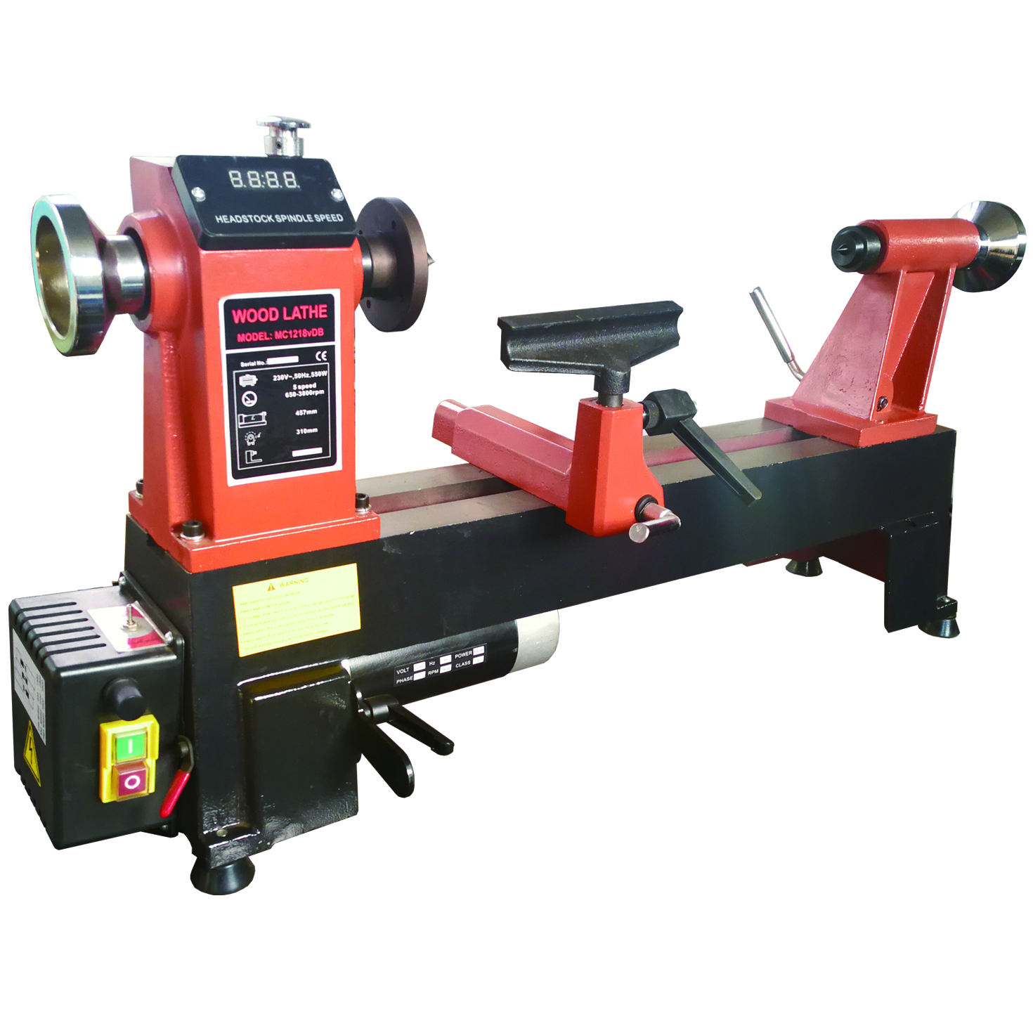 Top standard 220V/550w used automatic wood copying lathe machine for sale
