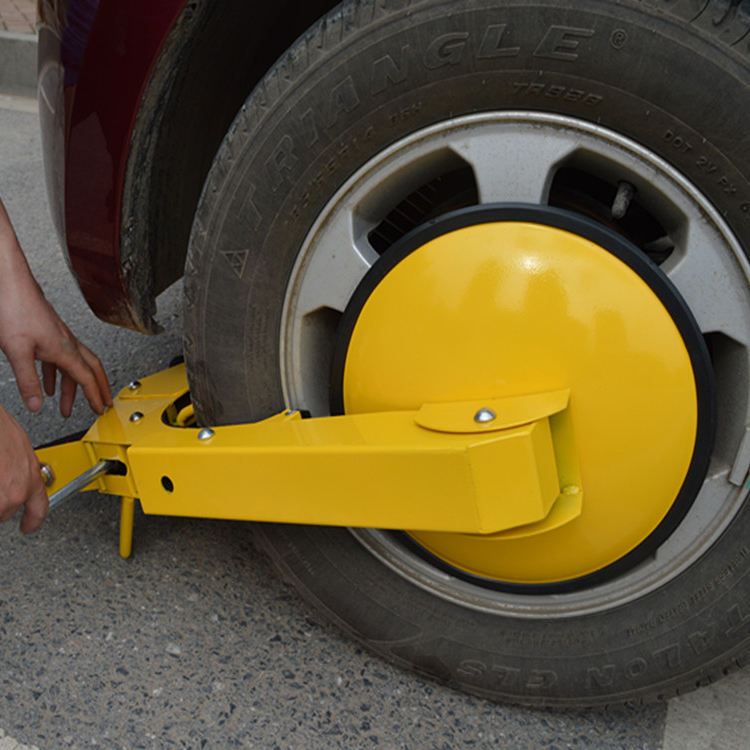 parking claw tyre claw Nemesis wheel clamp immobiliser