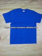 SLIM FIT MEN ROUND NECK ROYAL BLUE COLOUR T-SHIRTS