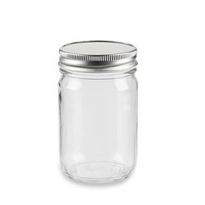 350ml 12oz Regular Mouth Glass Mason Jars with Screw Lid