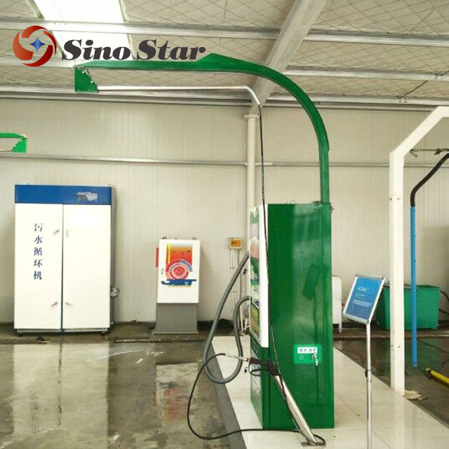 3.4KW 10MPA Coin/card/banknote operated car washing self service machine/self-service steam carwash machines equipment