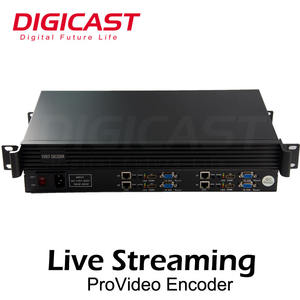 (DMB-8804) H.264 4 * HD schnittstelle Zu IP IPTV Streaming Encoder Für Wowza/FMS/EZ IPTV Streamer