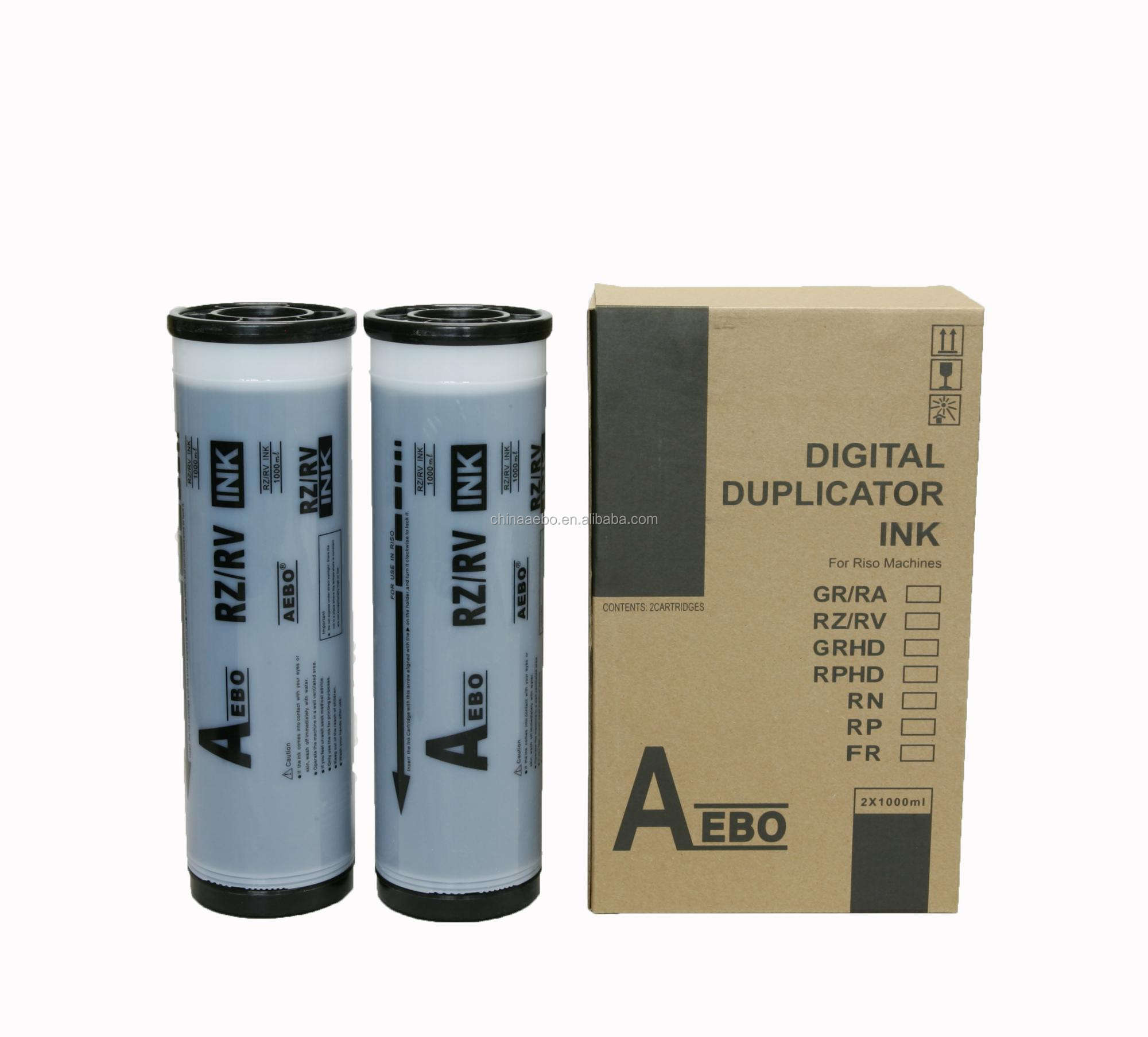 AEBO Compatible RZ/RV/EZ/MZ Digital Duplicator Ink