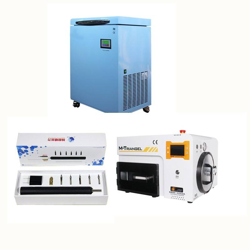 Full Kits Mobile Phone LCD Repair Machine Vacuum OCA Lamination Machine LCD Mid Frame Separating Machine