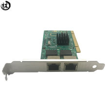 Dual-port PCI single RJ45 Lan port gigabit 1000Mbps network card
