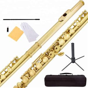Professional Chinese Gold Closed Hole C Flute