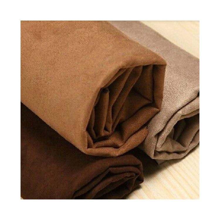 Synthetic Micro Suede 100 % polyester microfiber fabric in rolls