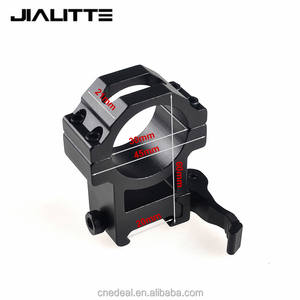Jialitte J072 Tactiek Riflescopes Laser Sight zaklamp rifle scope QD Quick Release Scope Ring Mount