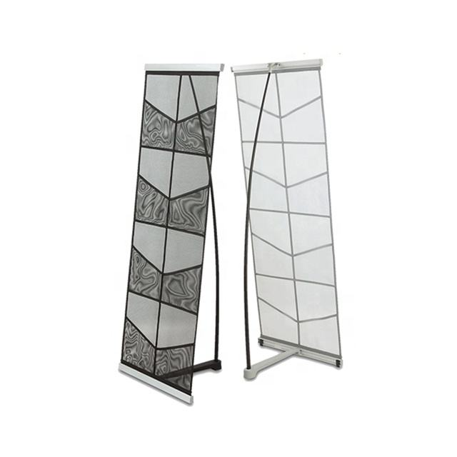 light netting design 4 pockets A3 A4 size magazine racks newspaper display stand brochure holder