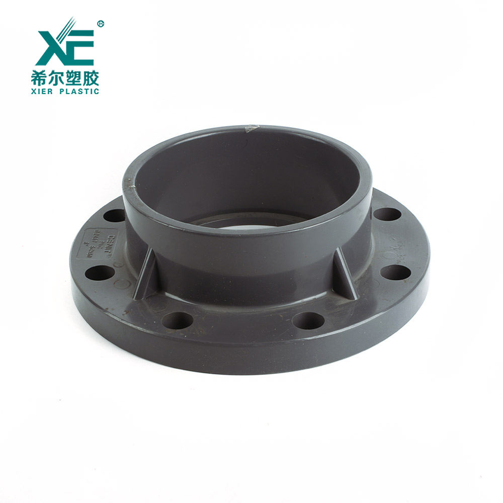 New arrival good price meticulous pvc pipe fitting plastic flange