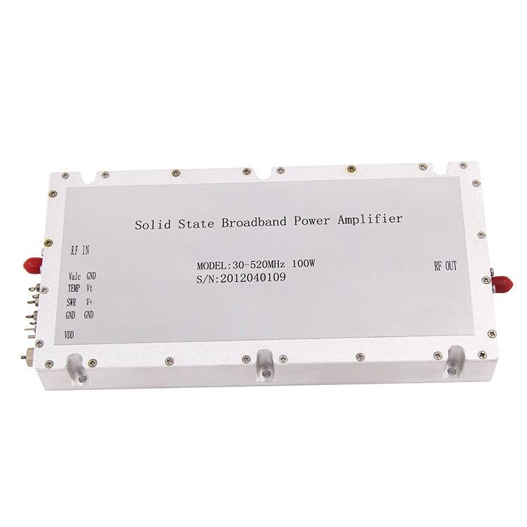 100W Shortwave Amplifier RF Power Amplifier HF Linear Amp 2-54MHz f// Ham Radio