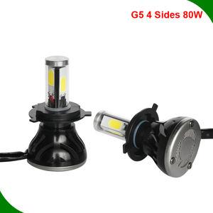 LED Kit G5 80W H9B 3000K Yellow Two Bulbs Head Light High Beam Replacement Lamp