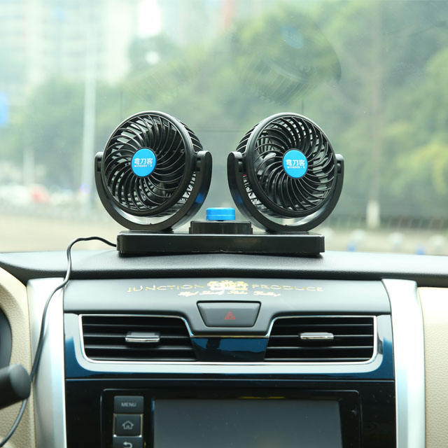 4 inch/6 inch double head car cooling fan