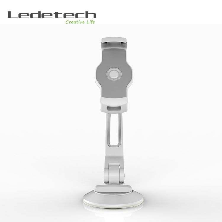 de rotação do braço de alumínio ventosa ventosa painel gps smartphone titular tablet pc monitor de montagem montagem do carro