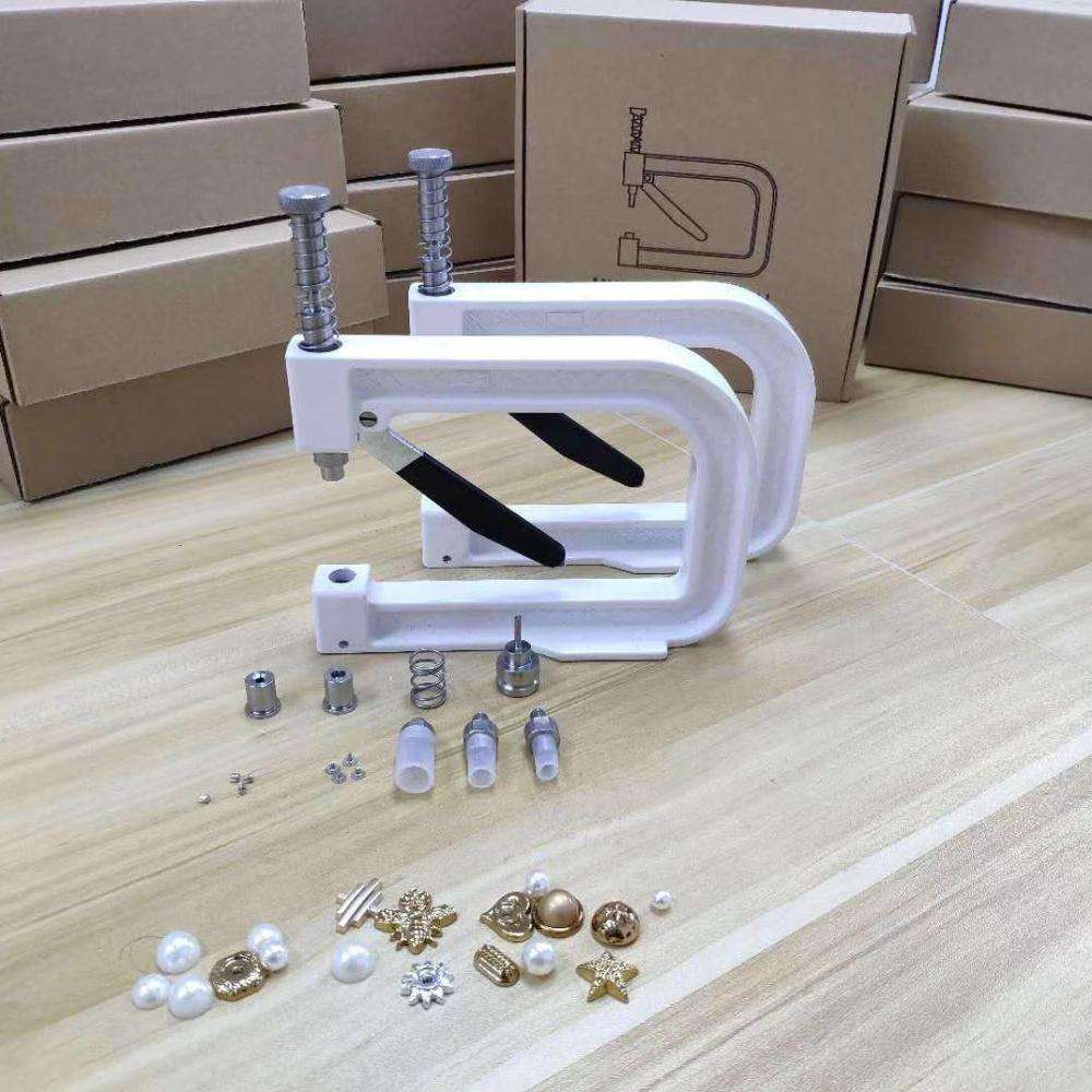 Fantastic quality excellent handmade pearl rivet setting machine