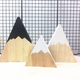Children's Room Decoration Ornaments Kids Toys Photography Prop Wooden Mountain