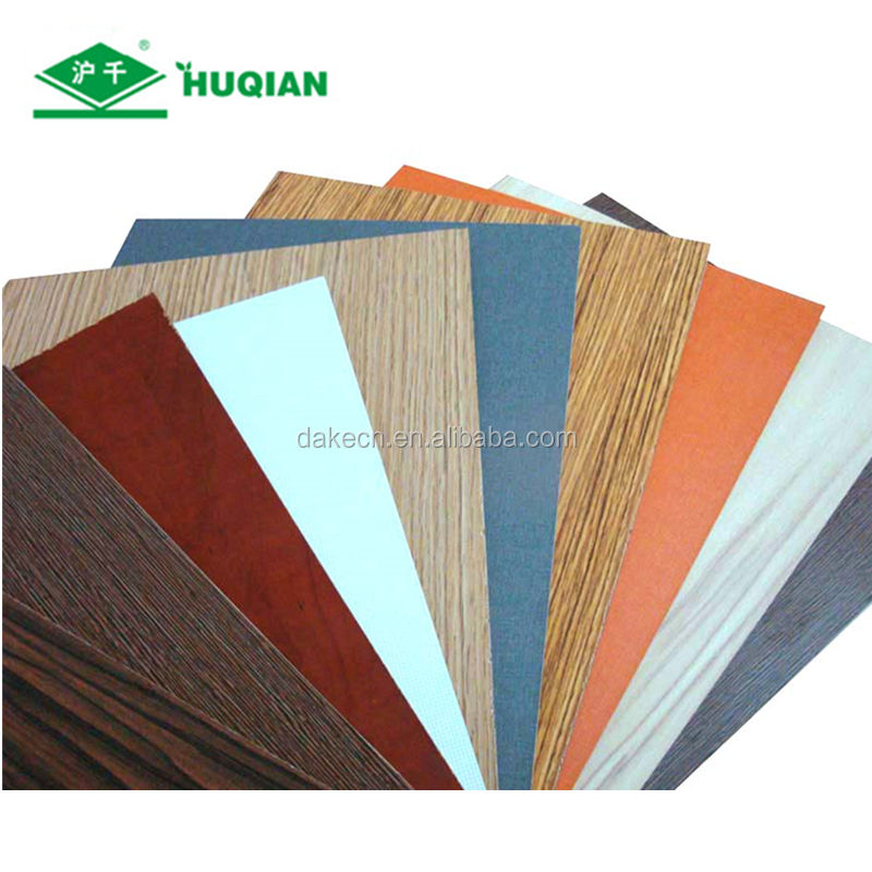 Hot sale melamine veneer mdf of colored mdf sheet