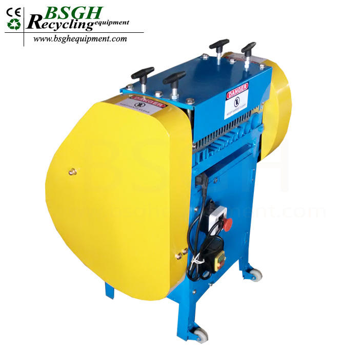 BS-KA Only USD349! super quality scrap copper cable wire stripping machine copper wire peeling tool