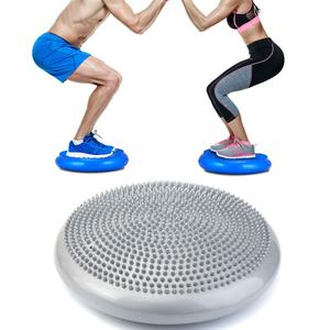 Inflatable Stability Balance Disc Wobble Air Cushion Pad Knee Ankle Yoga Board Fitness