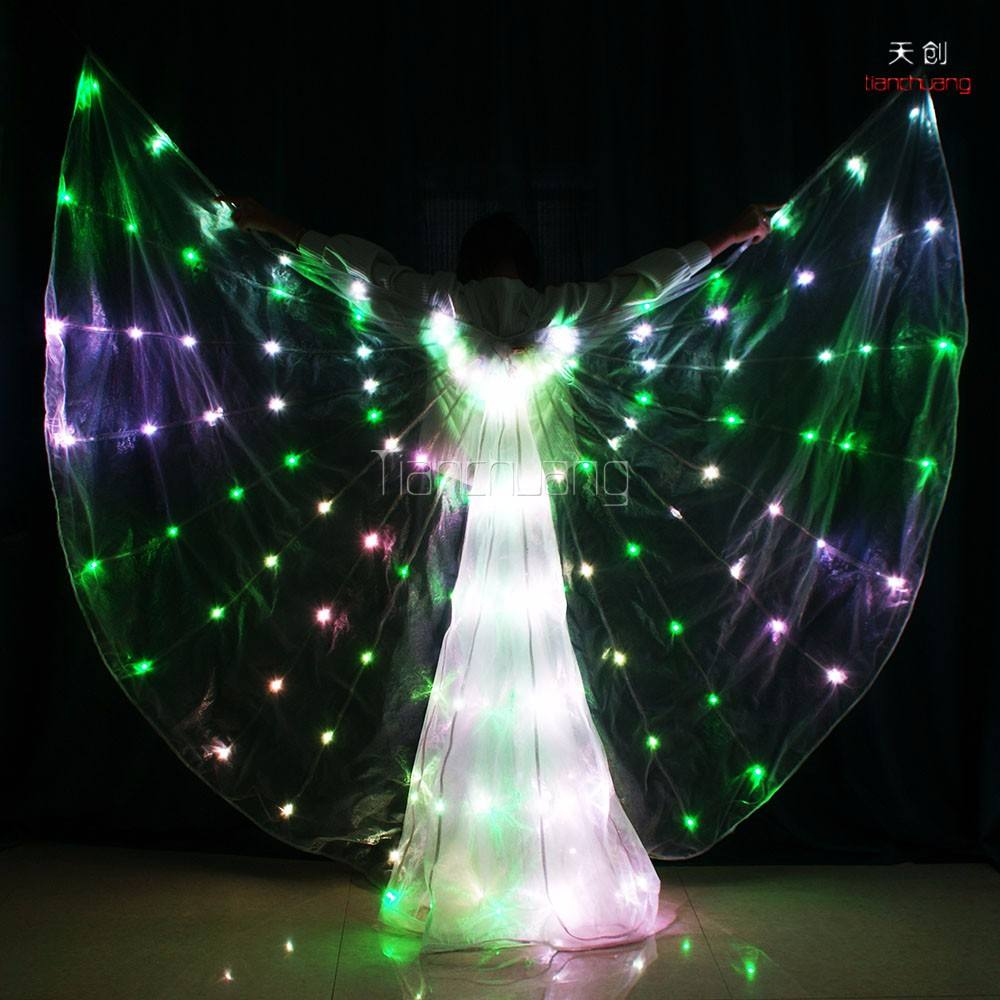 dance costumes flamenco dress led isis wings