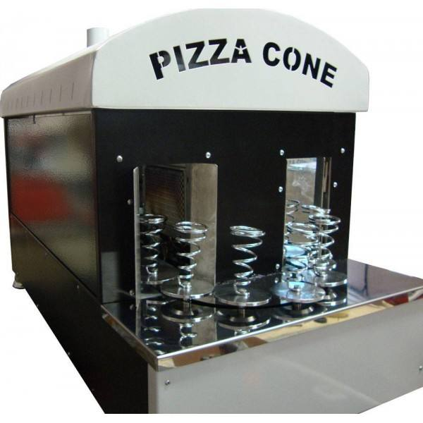 Fabriek Prijs Rvs Pizza Cone Maker Pizza Conus Making Machine
