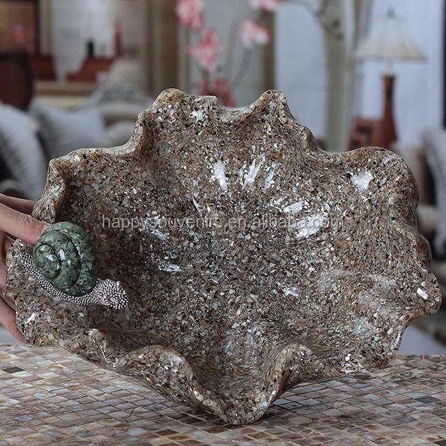 Forma irregolare moda irreguar resina vassoio con <span class=keywords><strong>lumaca</strong></span>