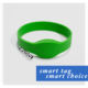 Nfc Wristbands 13.56mhz Rfid Wristband Free Samples 13.56MHZ NFC Chip MIFARE Ultralight C Silicone RFID Wristbands