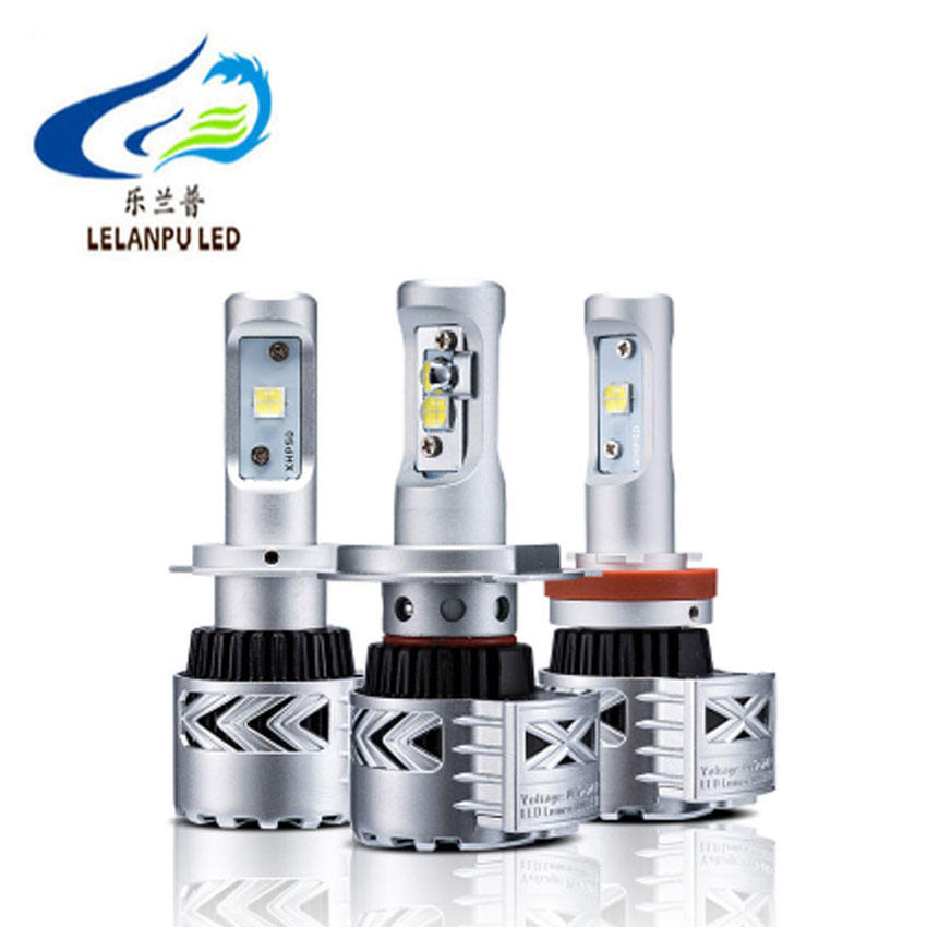LELANPU Harga Pabrik G8 Led Headlight Tinggi Terang 36W 4000LM H1 H4 H11 Hot Sale Led Lampu 12V 24V Mobil Led Bulb CREEs