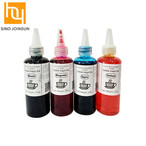 Health inkjet printing edible ink in brown color made in Natural organic pigment