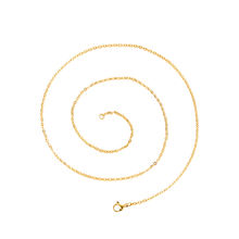 necklace-00674 xuping jewelry 24K gold plated simple fashion style cheap necklace 3gram chain designs necklace