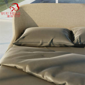 2020 New Amazon Hot Sale Organic Duvet Bamboo Bed Sheet Chinese Silk Duvet Cover