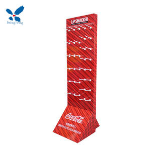 Store Promotional Retail Cardboard Hanging Display racks for Retail,Hook Display Stand Rack For Hanging Items
