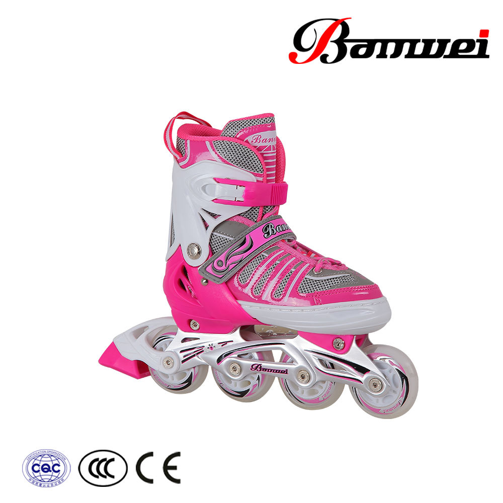 Ningbo supplier new products hot sale combo set inline skate for kids