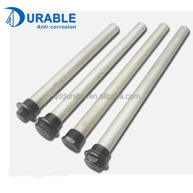 Cathodic Protection Extruded magnesium anode rod Mg alloy for electric water heaters