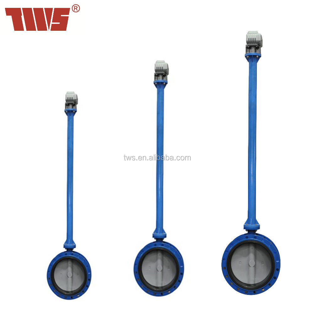 "1.5""~24"" PN10/16 Underground Extension Stem Butterfly Valve"