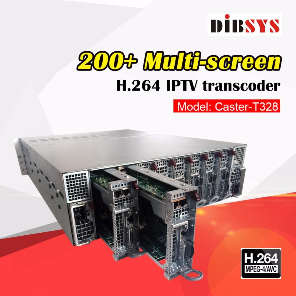 (Caster-T328) DIBSYS <span class=keywords><strong>DVB</strong></span> IP Gateway E Transcoder Streaming IPTV Encoder Per Server Wowza RTMP, Ezserver