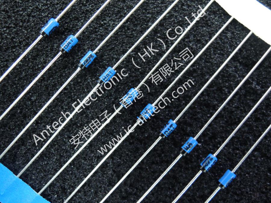 50 x BAT48 SMALL SIGNAL SCHOTTKY DIODE 40 V 350 mA