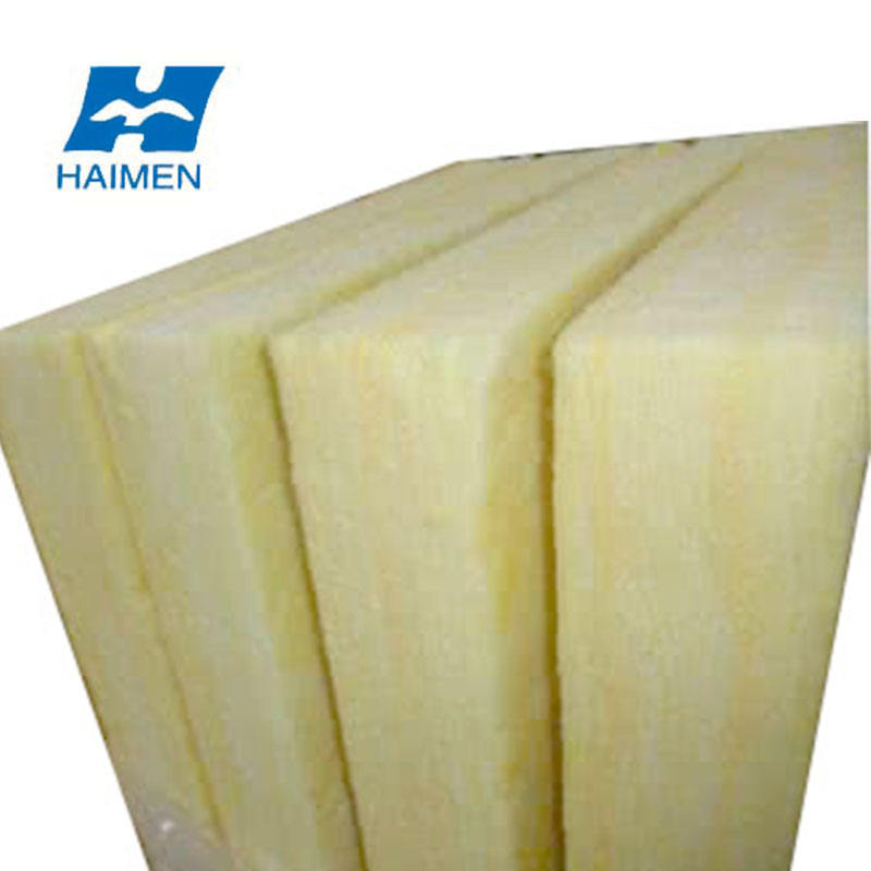 heat insulation material excellent glasswool board or panel sheets ce