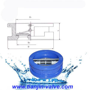 API594 Single or Dual Plate Wafer Check Valve Manufacturer