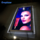 Factory Made A1-A4 Size Acrylic Slim Crystal LED Light box for Advertising