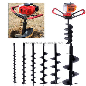 2018 Wholesale popular petrol post hole digger for sale