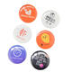 Wholesale High Quality Round Badge Factory Custom Plastic Blank Pin Button Badge 58mm