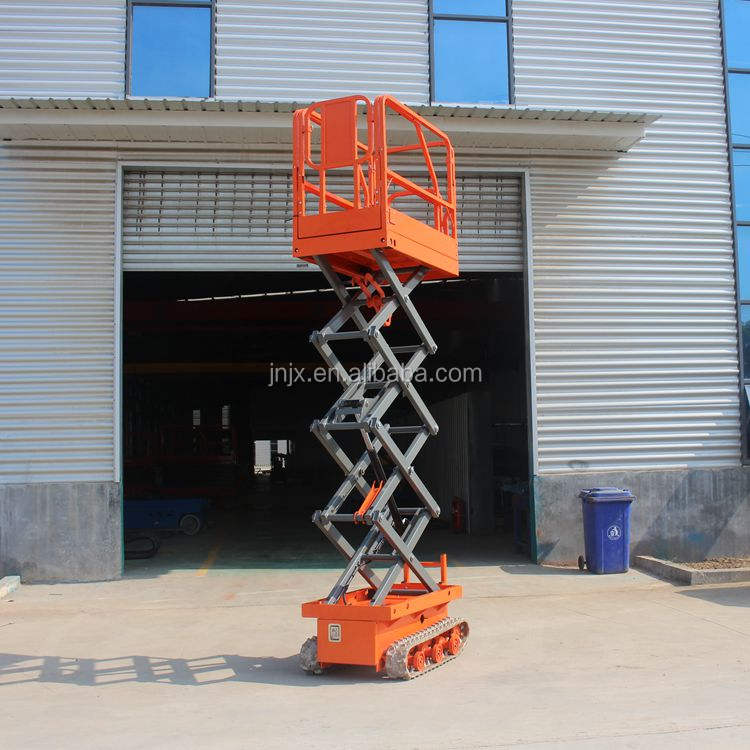 4M Mini crawler hydraulic lifting working platform